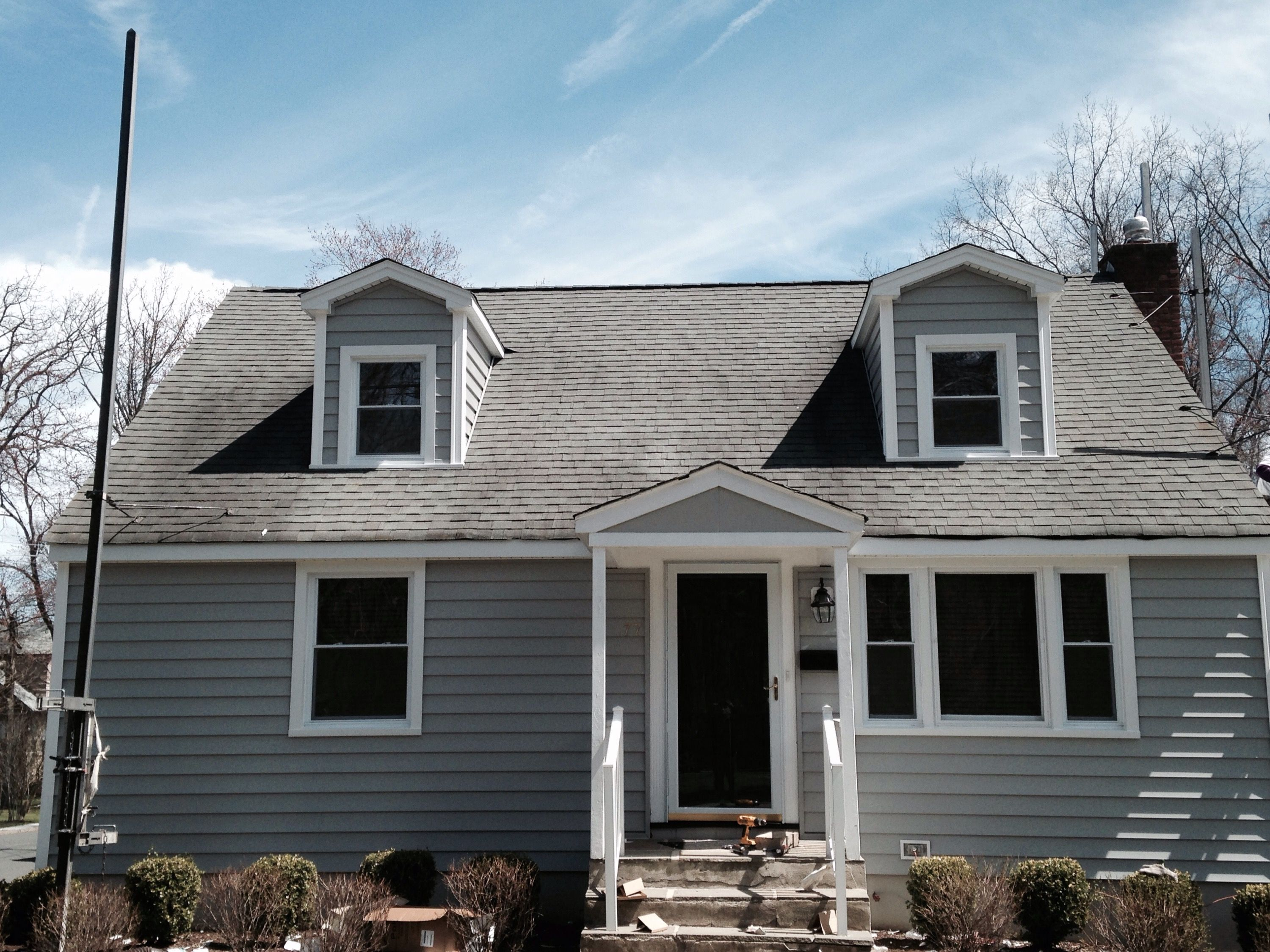 Alside Siding Cape Cod Gray