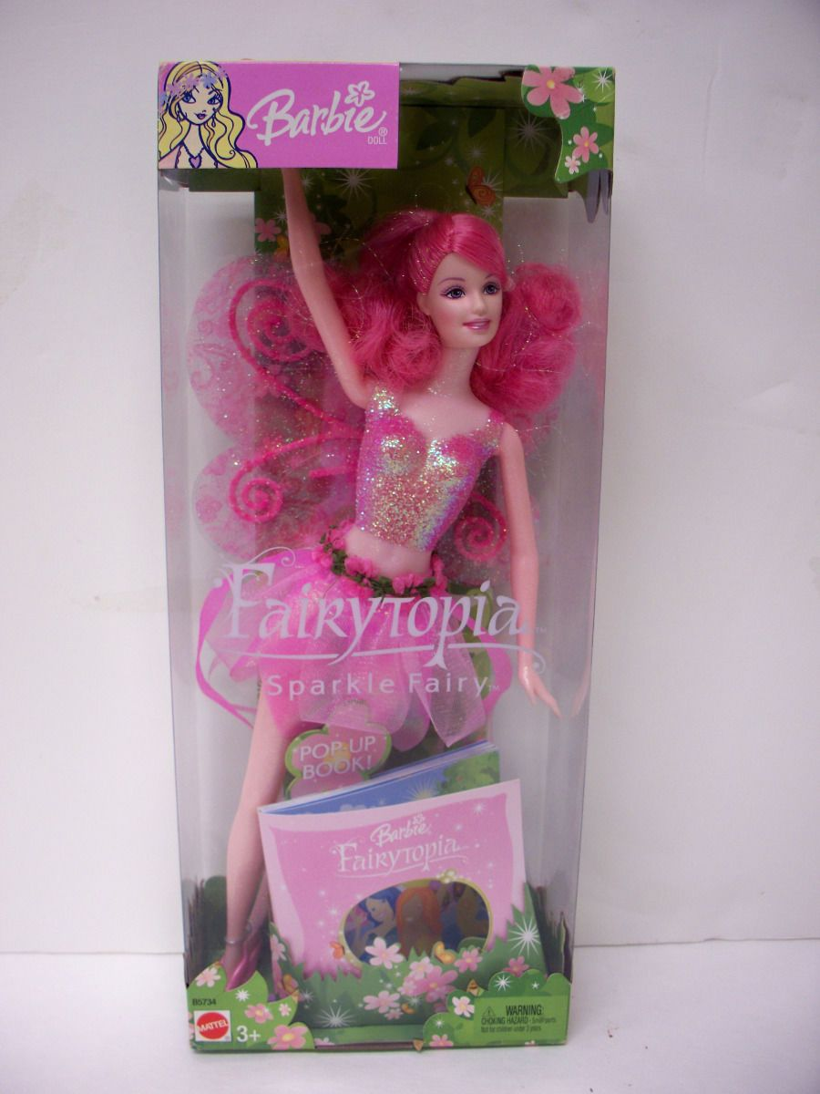 Find great deals on ebay for barbie hair extensions doll barbie light - Barbie Doll 2003 Fairytopia Sparkle Fairy Ebay
