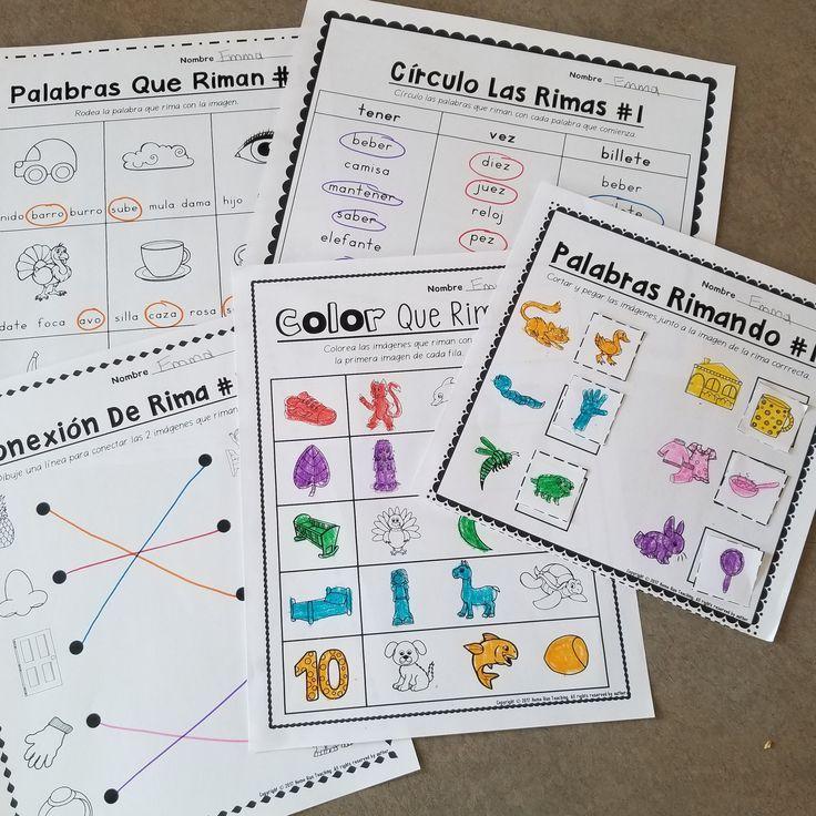 Rimas | Best of TPT | Pinterest | Kindergarten, Teaching and ...