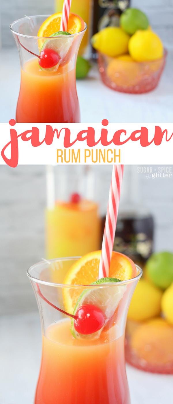 Jamaican Rum Punch   Rezept   Getränke, Cocktails und Bowle