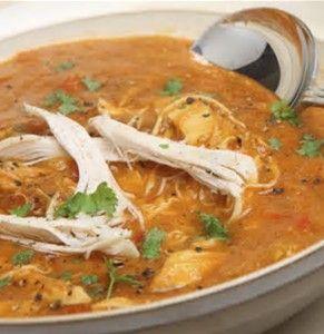 Image result for Southwestern Chicken Soup