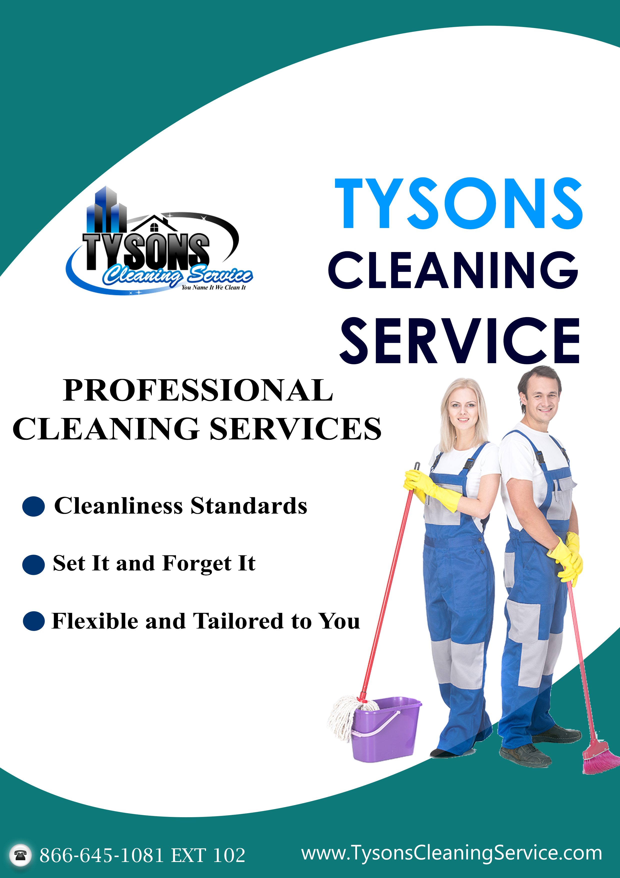 Professional Cleaning services...www.TysonsCleaningService