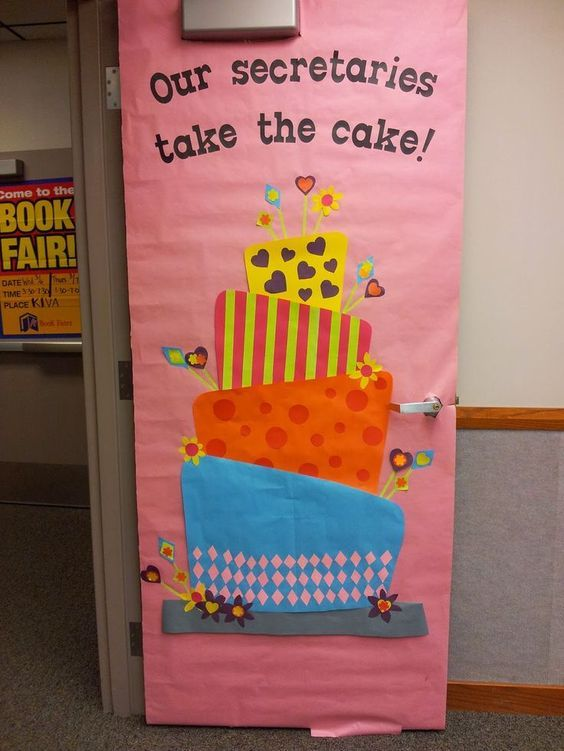 Teacher Appreciation Door Decorating Ideas ~ Southland Elementary PTO #custodianappreciationgifts