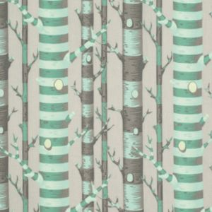 Forest Stripe in Jade, Bumble, Tula Pink