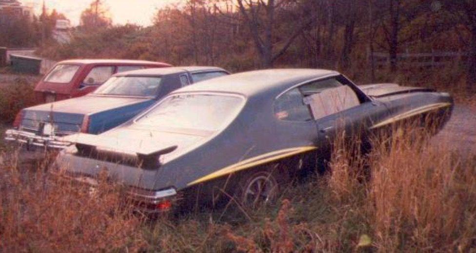 Image by tim on crashed abandoned old cars barn find
