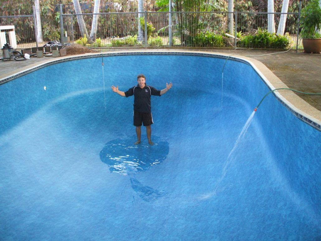 Another Proud Diy Inground Liner Installer Swimming Pool Pond Pool Swimming Pool Designs