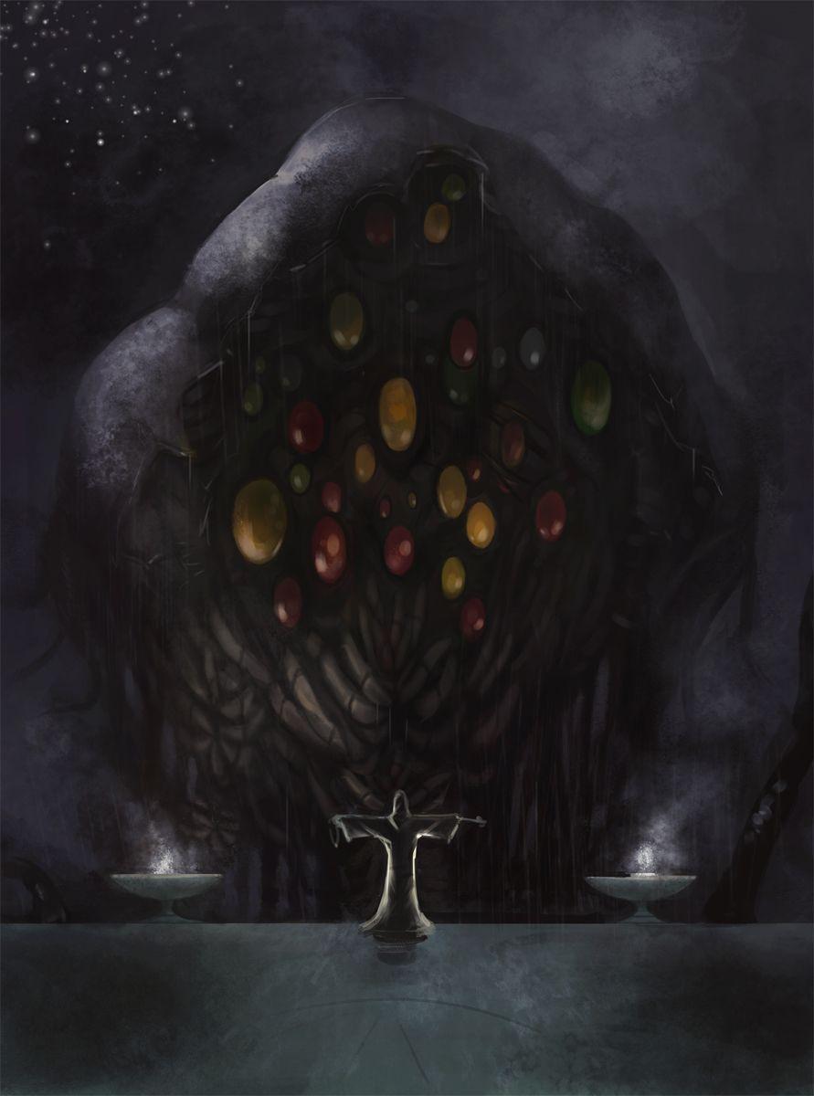 Shoggoth Summoning By Odinoir On Deviantart Lovecraft Cthulhu Cosmic Horror Lovecraftian Horror