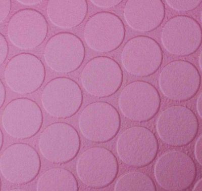 Pink Dots 2m Wide Vinyl Lino Cushion