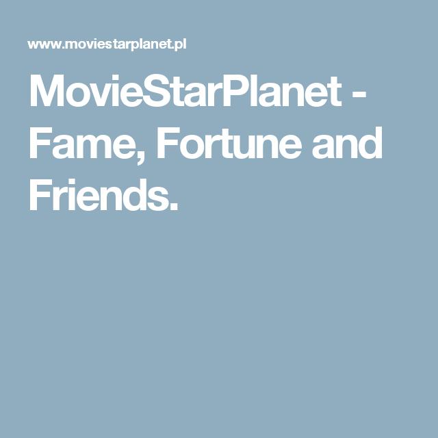 Moviestarplanet Fame Fortune And Friends Polecane Strony