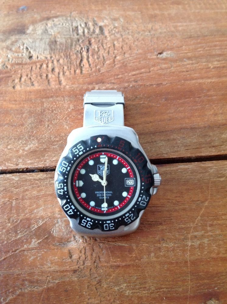 Used Tag Heuer F1 Formula 1 F1-WA1214 Mens Original 1990 s Vintage Watch  Good. 75ca784e8