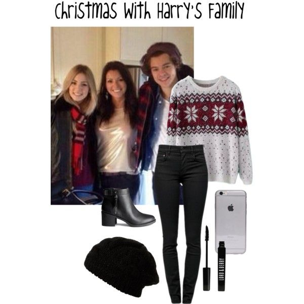 Christmas With Harry's Family by stockholmsyndromexx on Polyvore featuring polyvore, fashion, style, Chicnova Fashion, Proenza Schouler, H&M and Lord & Berry