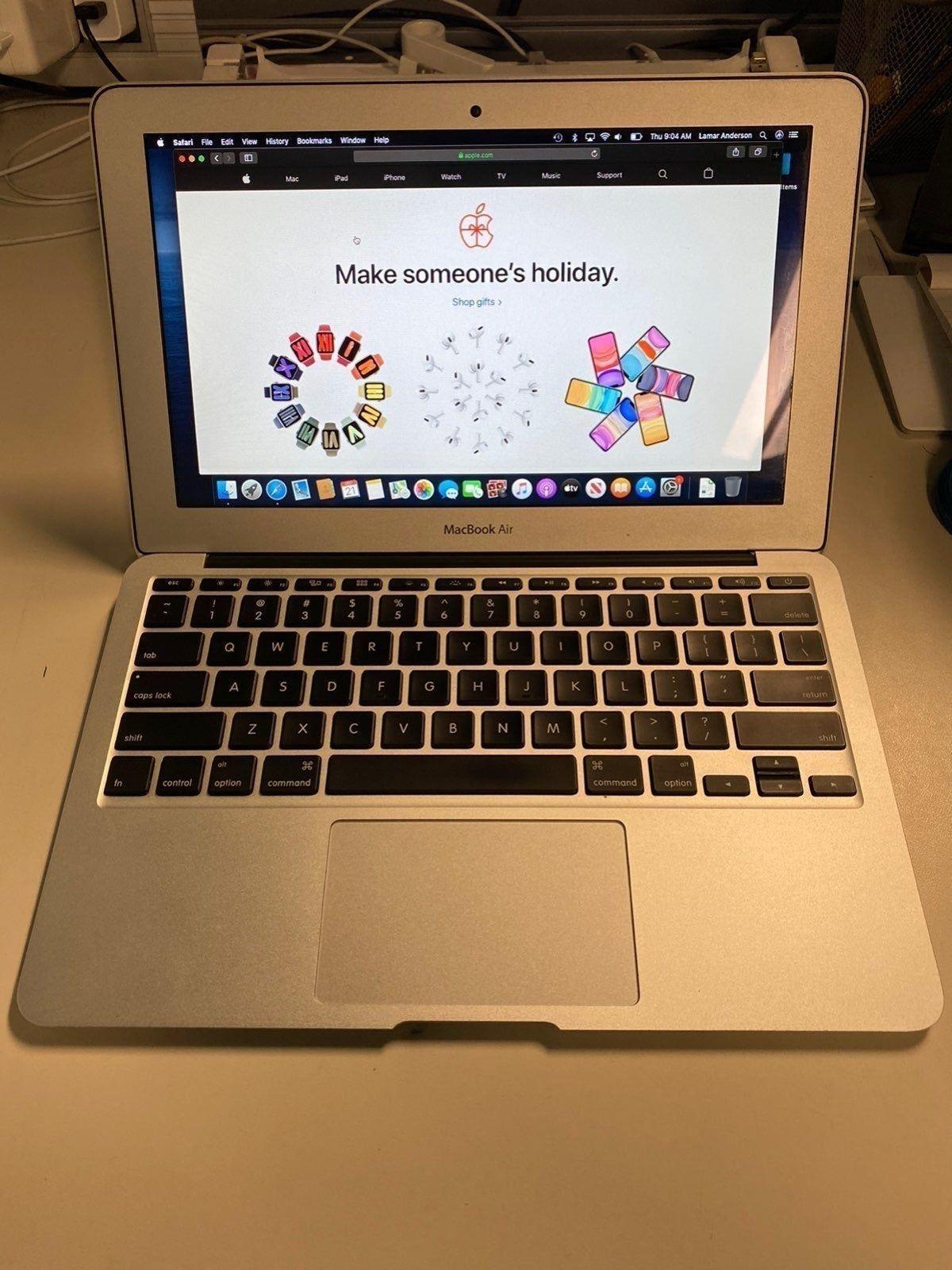 Macbook Air 11 Inch 2013 500gb In 2020 Macbook Air 11 Inch Macbook Macbook Air