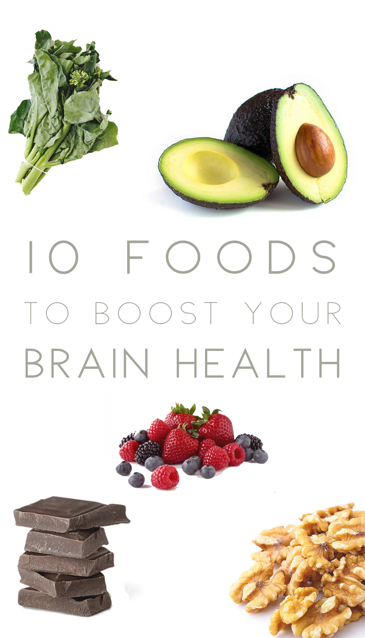 10 Foods To Boost Your Brain Power Brain Healthy Foods