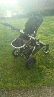 kinderwagen baby jogger city select in saarland wadern kinderwagen gebraucht kaufen ebay. Black Bedroom Furniture Sets. Home Design Ideas
