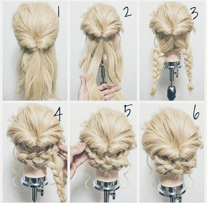 When hair is longer | hayleighs party ideas | Pinterest | Hair style ...