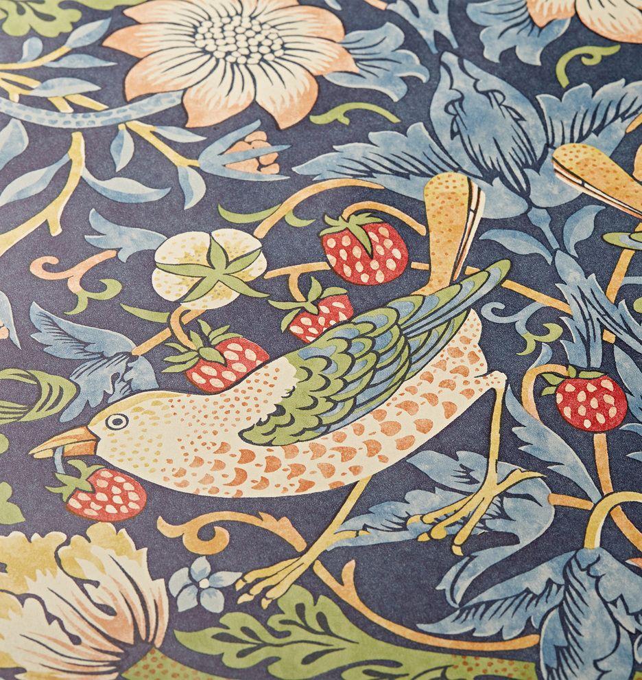 Strawberry Thief Morris & Co. Wallpaper William morris