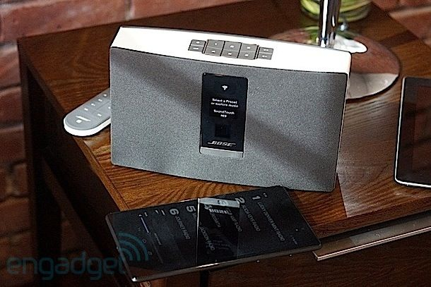 Bose intros SoundTouch WiFi music systems, makes home audio more like a car stereo #musicsystem