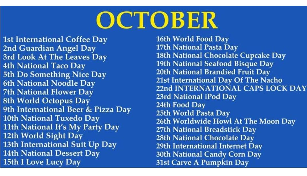 Pin By Stacy Earl On Business Weird Holidays Wacky Holidays National Day