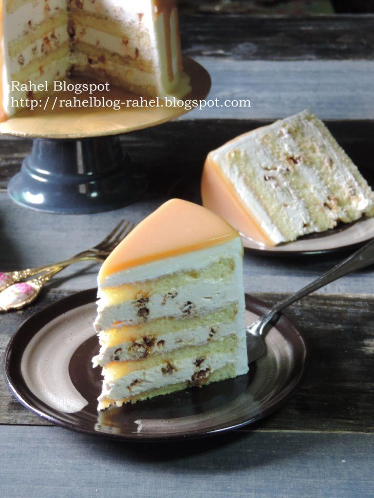 Pecan Butterscotch Cake