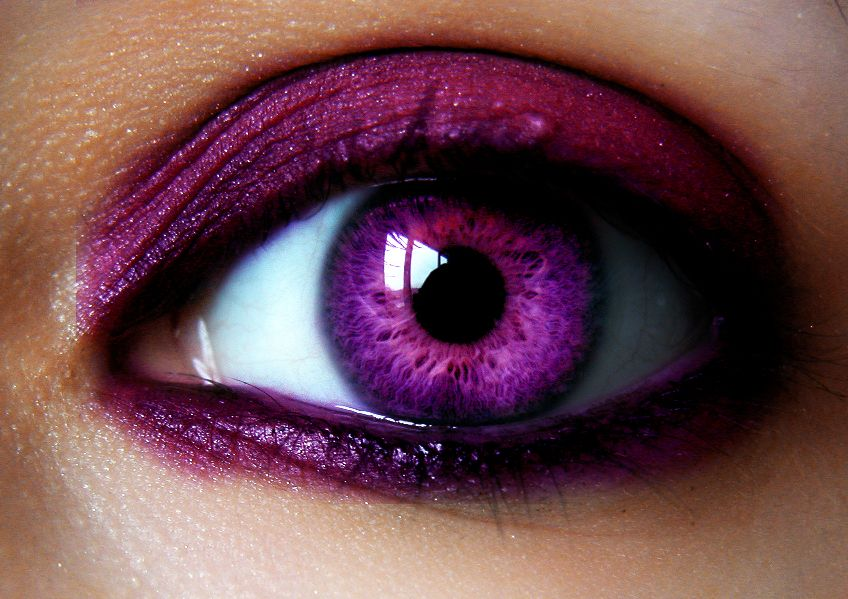 Beautiful Pink Eye In Color By Lt Arts On Deviantart Rare Eye