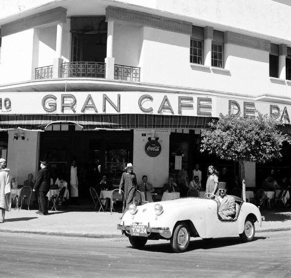 Resultado de imagen de gran cafe de paris tanger