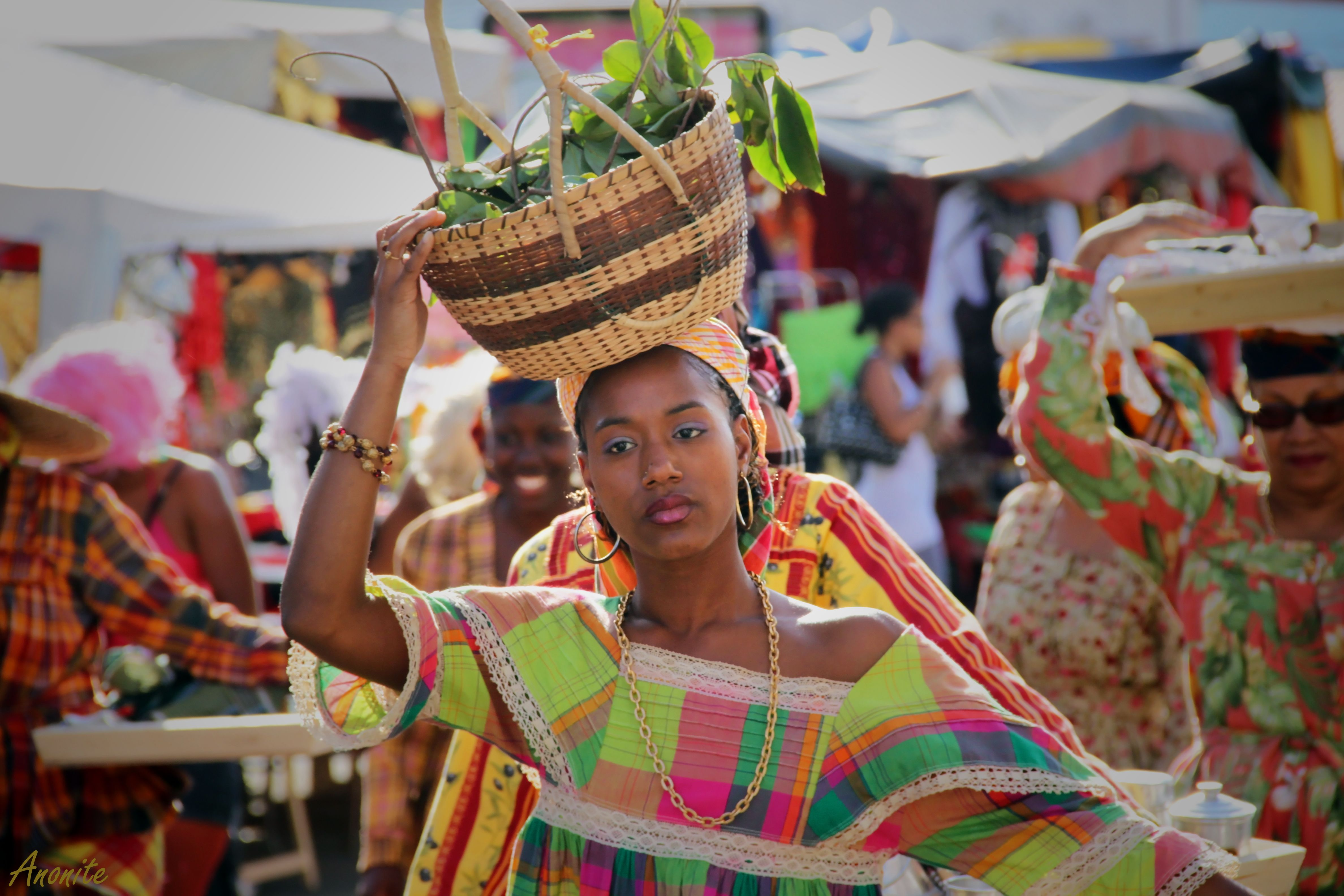 TRIP DOWN MEMORY LANE: MARTINIQUE: THE AFRICAN FLOWERS OF ...