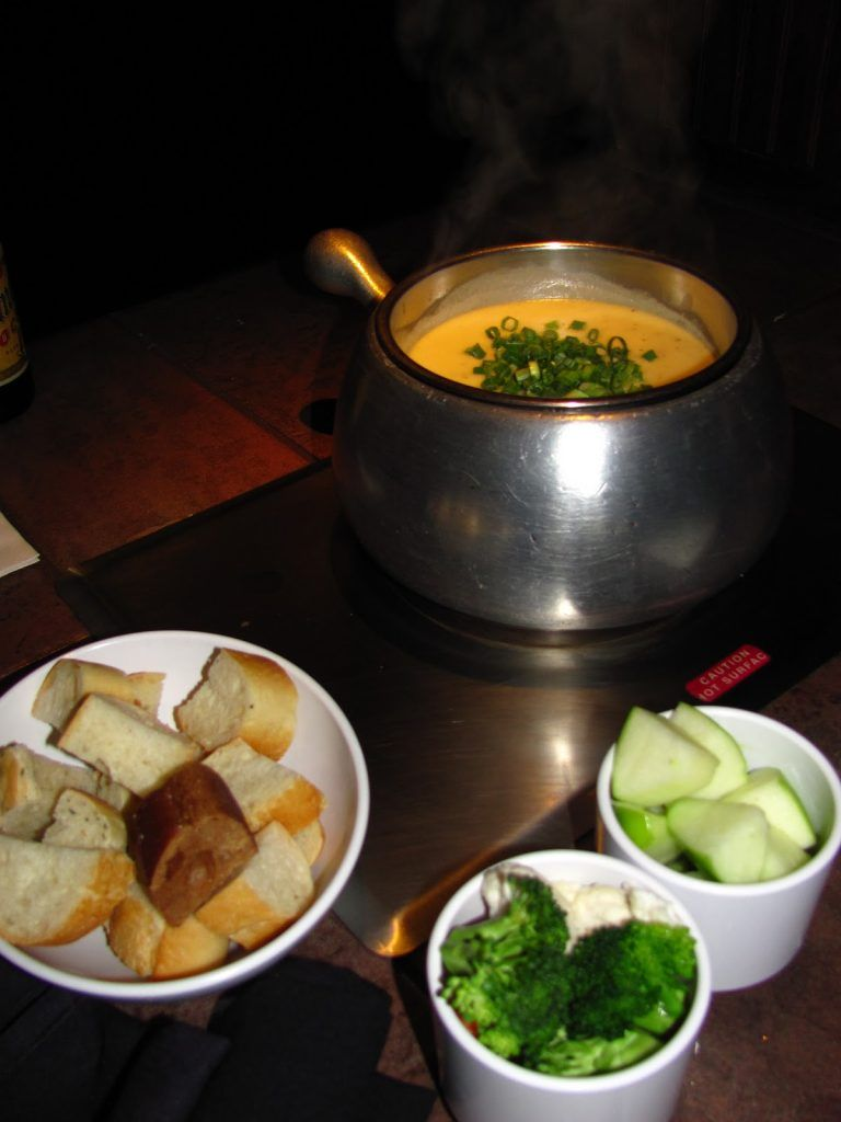 The Melting Pot Garlic Herb Cheddar Fondue #meltingpotrecipes