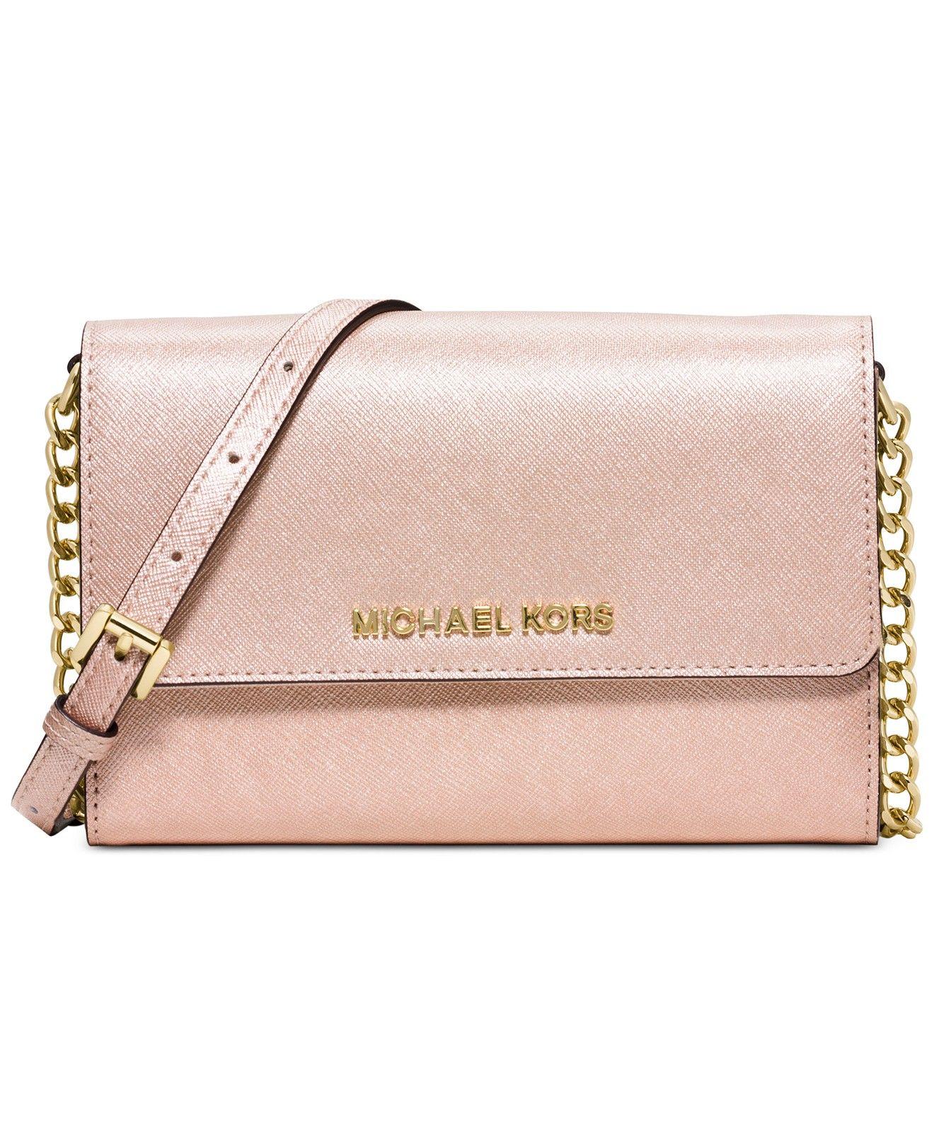 michael michael kors large phone crossbody handbags accessories rh pinterest es