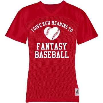 a52e8425b A Clever Jersey for a Girl Who Loves Fantasy Baseball