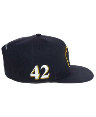 '47 Brand Milwaukee Brewers Team Jackie Robinson Collection - Blue Adjustable