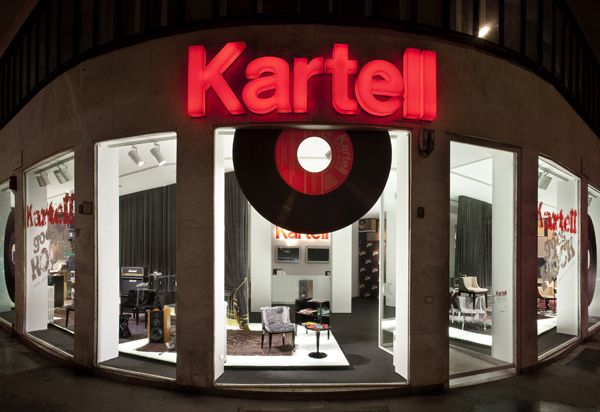 Kartell goes rock - Milano Design Week 2012 | Visual Merchandising ...