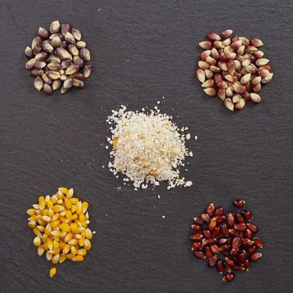 50 Graustufen Als Einrichtungsbeispiele Die Ihre: Ur-Mais Sorten (Heirloom Corn) Angebaut, Gehegt Und