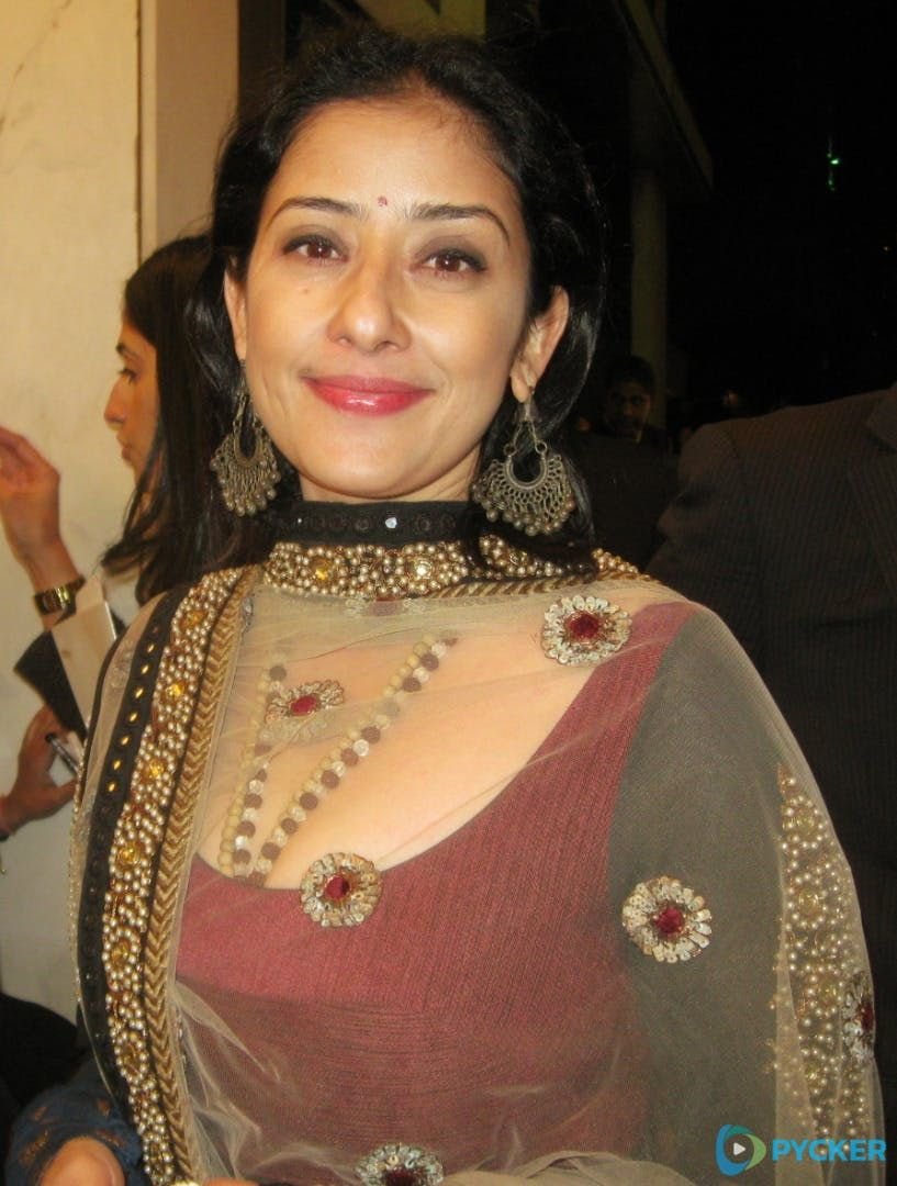 Manisha koirala cleavage apologise
