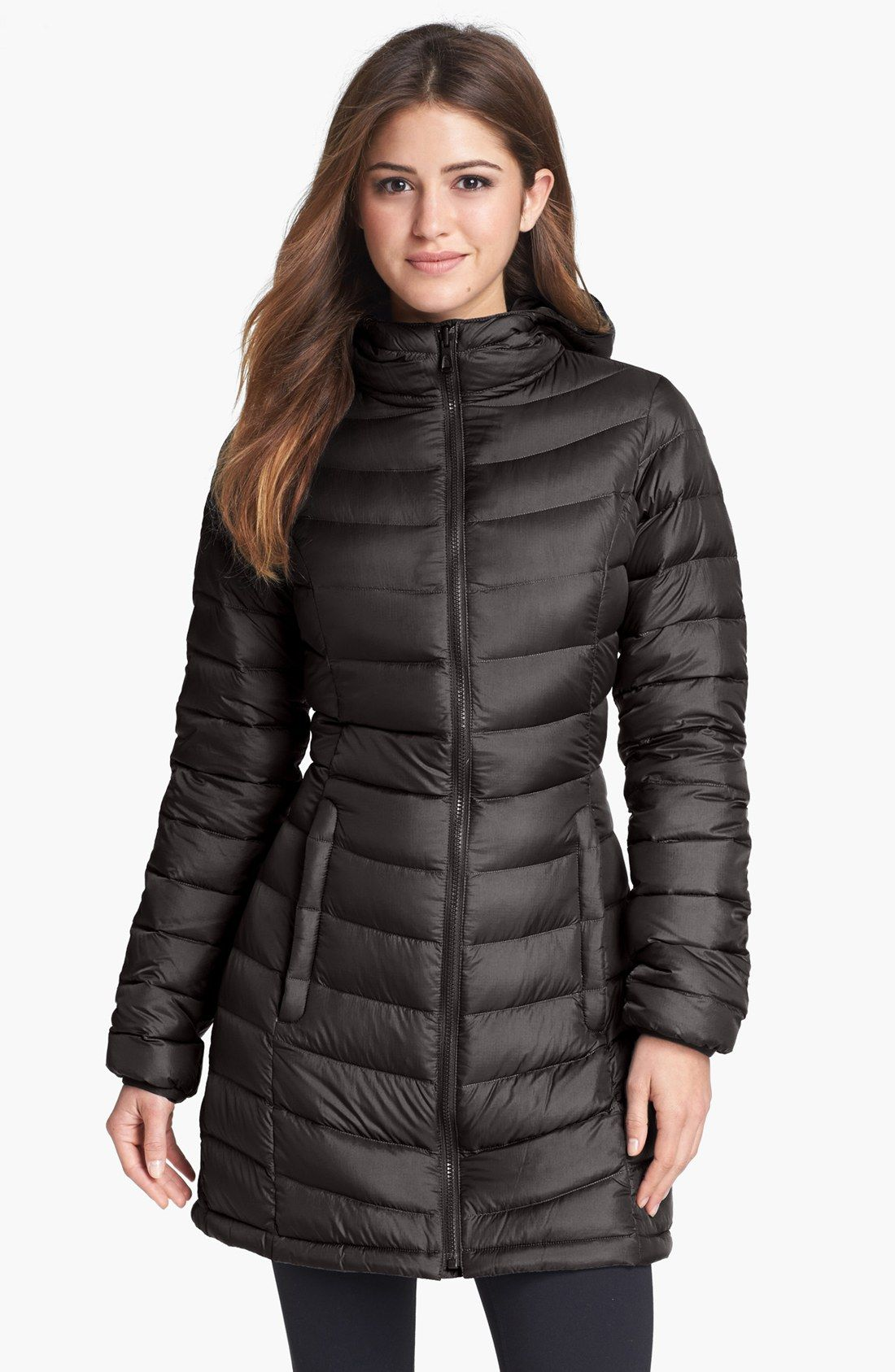 The North Face 'Jenae' Hooded Down Jacket (Nordstrom