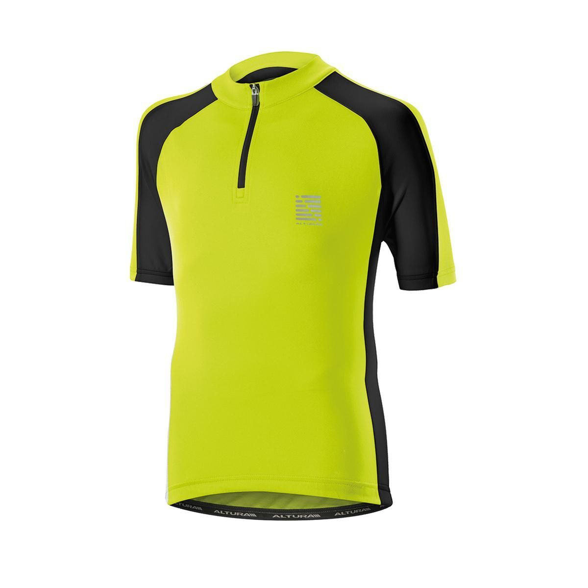 ALTURA Childrens Sprint Short Sleeve Jersey Yellow-Black 7-9 Years - A  classic 5d843bf45
