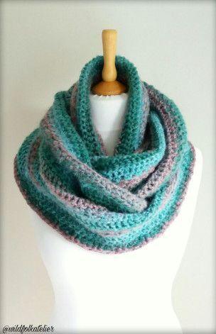 Tutoriel Snood Aurora Au Crochet Aurora Crochet Snood Pattern