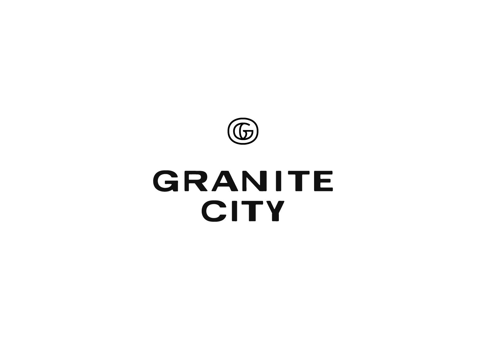 Granite City Wordmark Icon Granite City Icon City