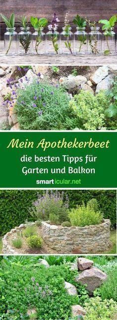 Natürlich gesund mit dem Apotheker-Beet #kräutergartenbalkon