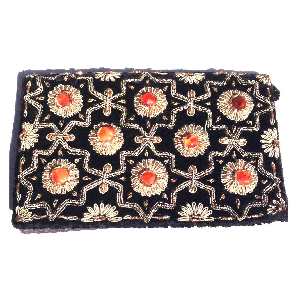 I just discovered this while shopping on Poshmark  Vintage Black Velvet  Clutch Shoulder Bag. Find this Pin and ... b2273de0e0