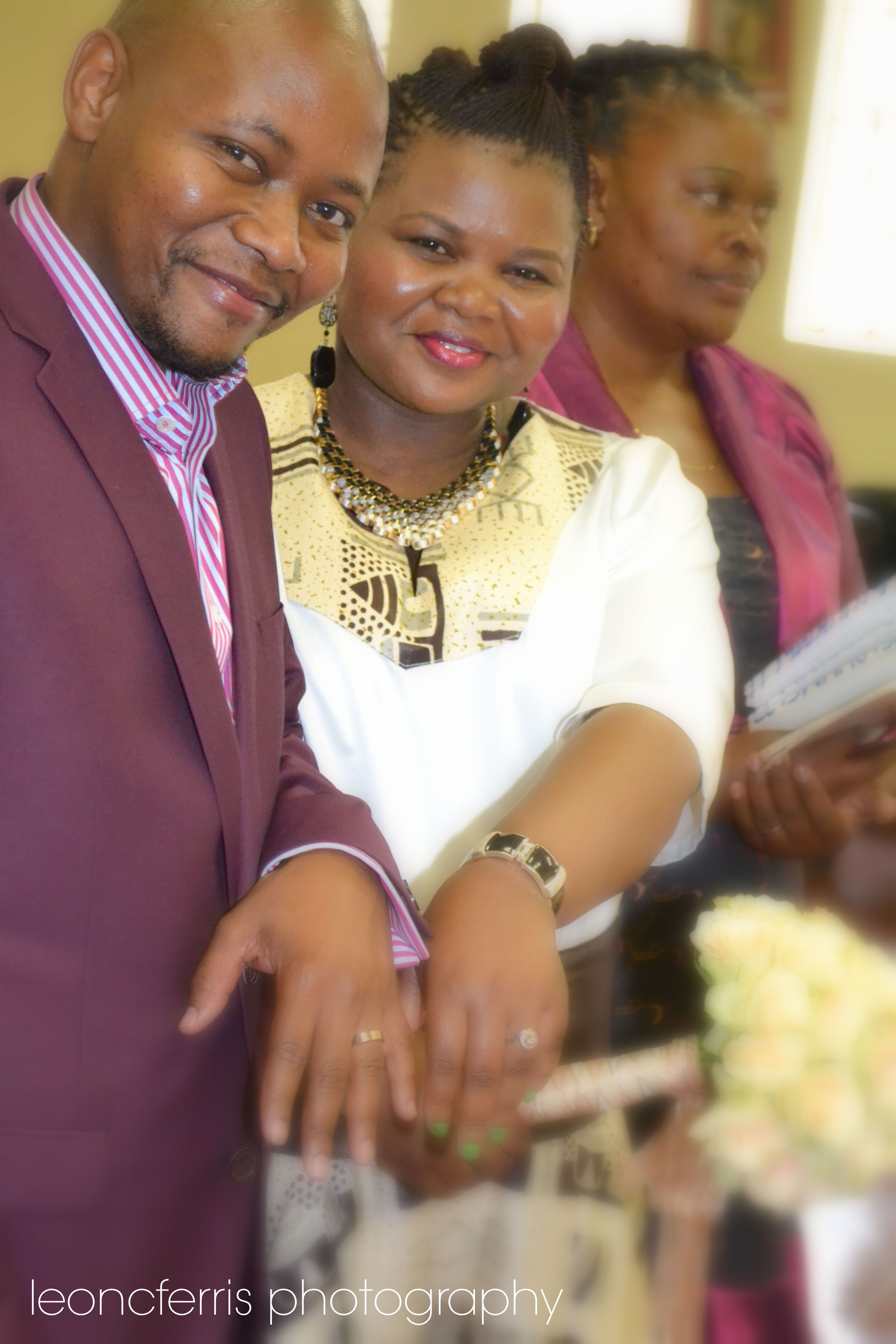 Wedding rings South African traditional wedding