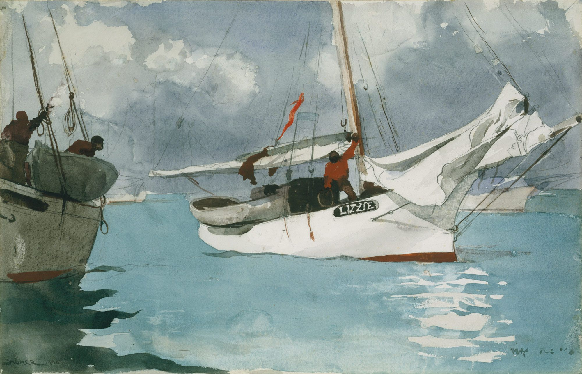 Fishing Boats Key West In 2020 Winslow Homer Paintings Winslow