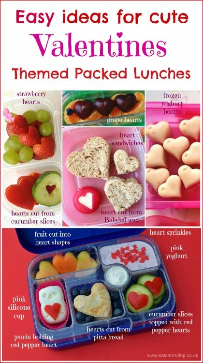 Simple Healthy Valentines Day Lunch Ideas Eats Amazing Kids Packed Lunch Healthy Valentines Valentines Snacks