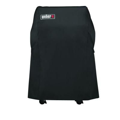 Weber Grill Cover With Storage Bag For Spirit 210 Series Gas Grills 7105 The Home Depot Weber Grill Cover Grill Cover Gas Grill Covers