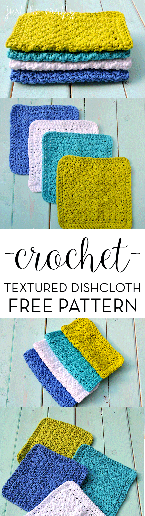 Crochet textured dishcloth pattern free pattern by free crochet textured dishcloth pattern free pattern by bankloansurffo Image collections