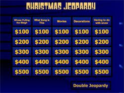 Freebie Friday  Christmas Jeopardy Game  Life In Student