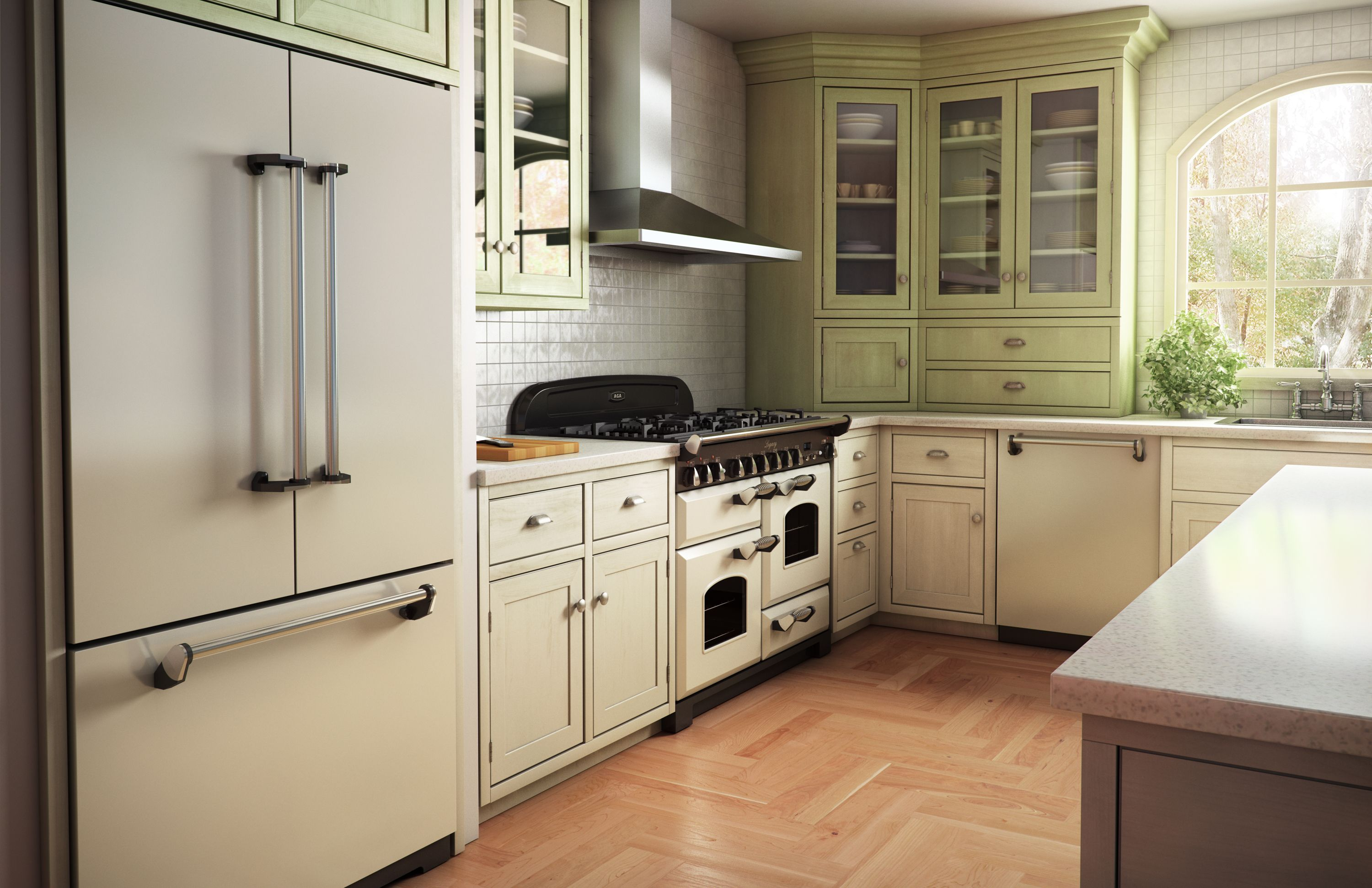 AGA Legacy with Cathedral doors | Kitchen appliances ...