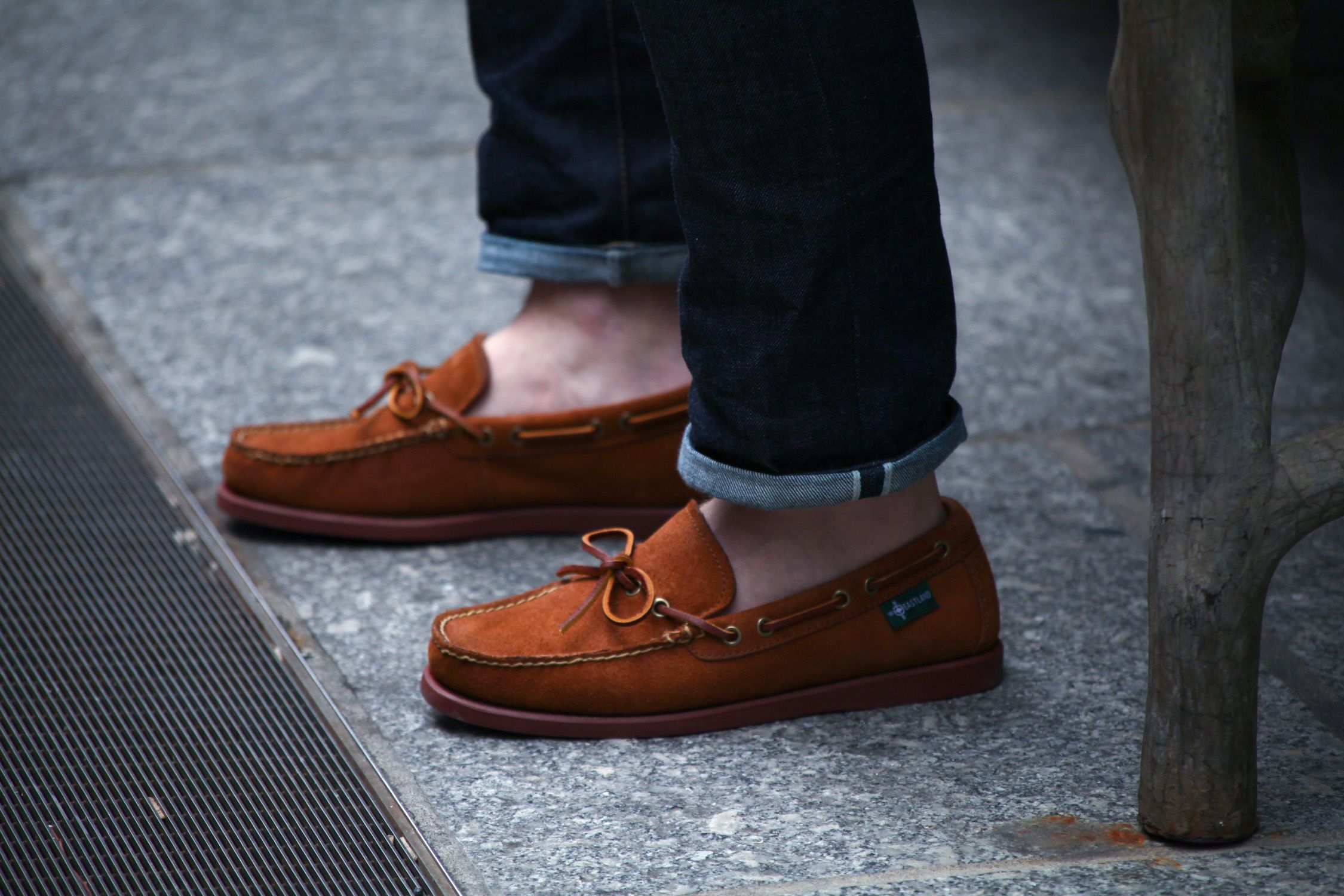 e9ea30ecae Eastland Yarmouth 1955 Boat Shoe  eastlandshoe  threadandsalt Paired up  with one of my favorite