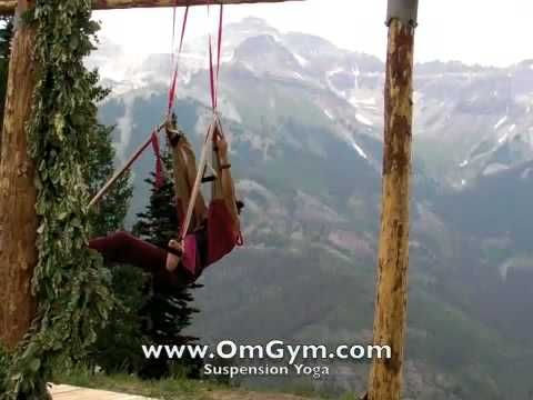 Love is the only way yoga swing