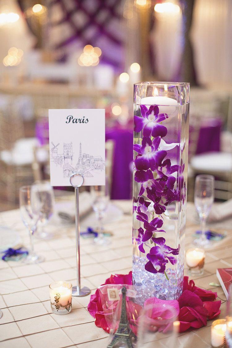 West Belmont Place Indian Wedding Purple Gold Wedding Themes