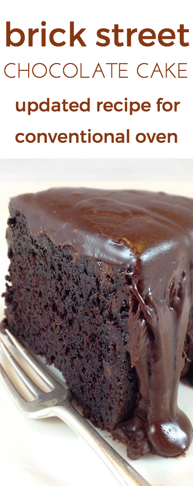 Brick Street Chocolate Cake For Regular Oven